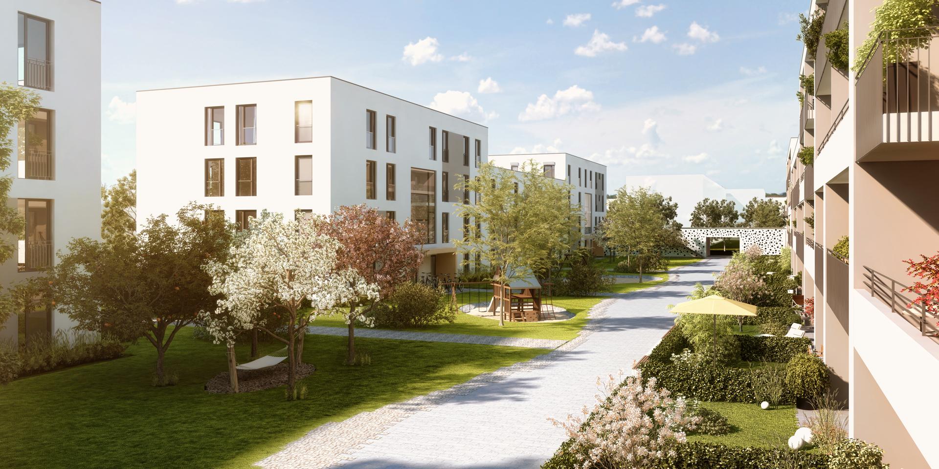Gartenstadt Home Munich Ramersdorf-Perlach | Terrafinanz Wohnbau