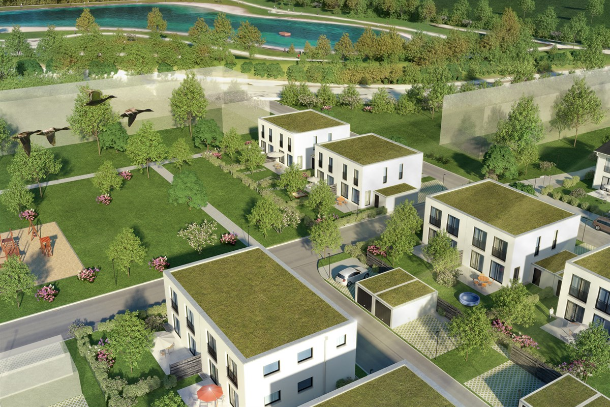 Topview of Bergfeld Living Poing