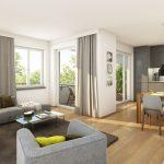 Aubinger Winkel - living room