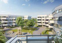 Aubinger Winkel - View into the inner courtyard